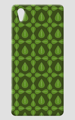 Seamless pattern with leaves on green background One Plus X Cases | Artist : Designerchennai