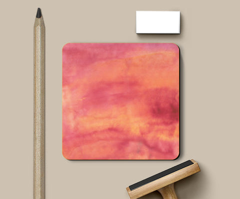 Orange Gradient Coasters | Artist : Ankita Sharma
