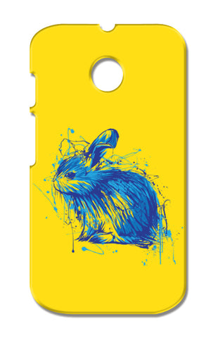 Rabbit Moto E XT1021 Cases | Artist : Inderpreet Singh