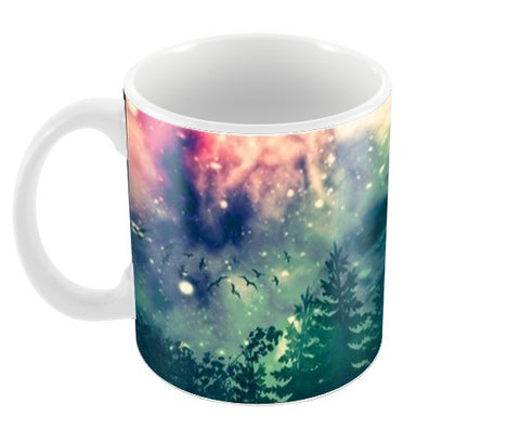 Galactic backyard  Coffee Mugs | Artist : nilesh gupta
