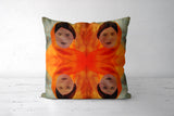 Becoming The Fire - Indian Woman Cushion Covers | Artist : Rameshwar Chawla