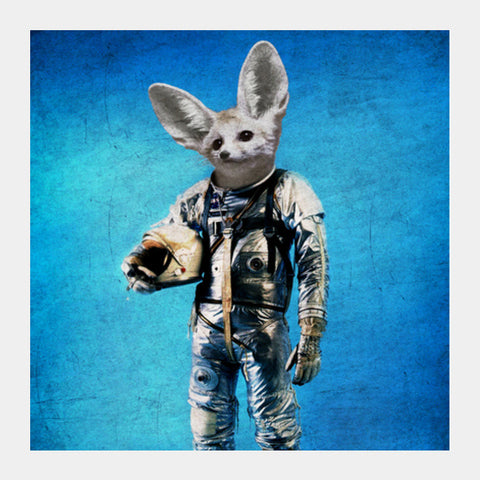 Square Art Prints, fennec the captain Square Art Prints | Artist : Durro Art, - PosterGully