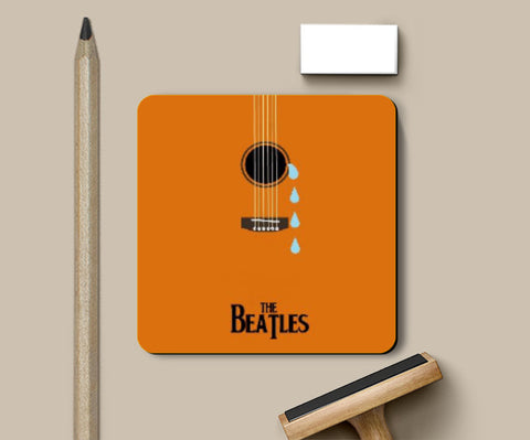 Coasters, Beatles While My Guitar Gently Weeps Coaster | Artist: Revant Mahajan, - PosterGully