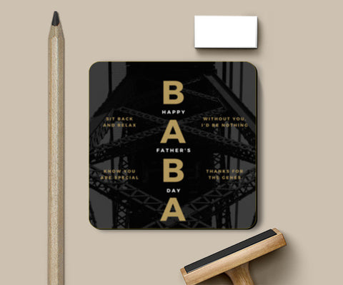 Happy day Baba Coasters | Artist : Swati Saxena