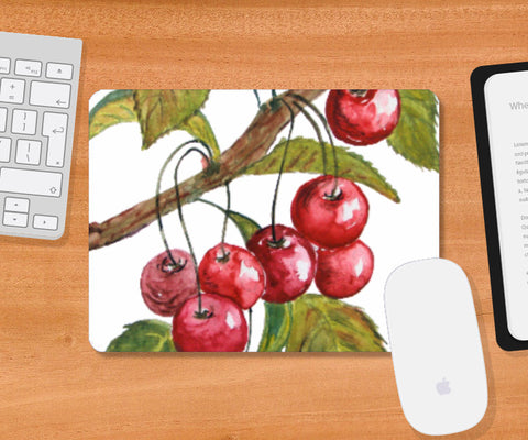 Mousepad, Cherries Mousepad I Artist: Seema Hooda, - PosterGully