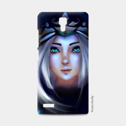 Ashe from league of legends Redmi Note Cases | Artist : Scribbles