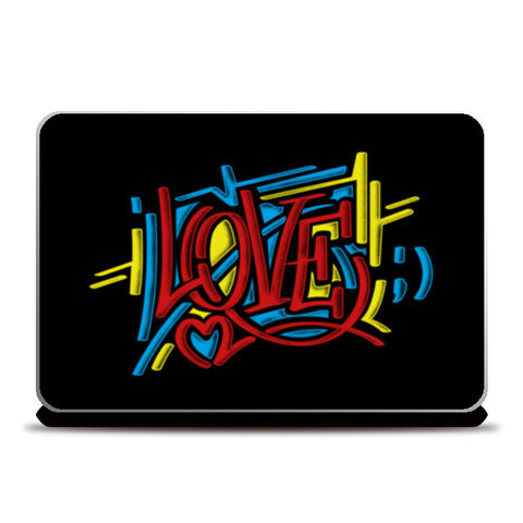 love graffiti Laptop Skins | Artist : chetan adlak