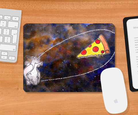 Pizza is bae Mousepad | Artist : Devi