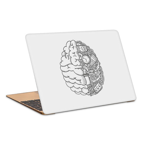 Brain Intricate Artwork Laptop Skin