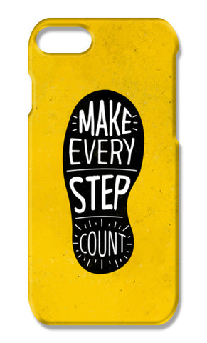 Make Every Step Count iPhone 7 Plus Cases | Artist : Inderpreet Singh