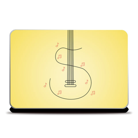 S for sangeet Laptop Skins | Artist : Harshavardhan Kore