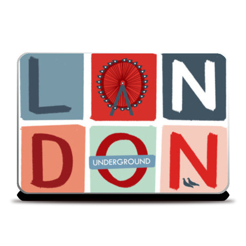 LONDON 1 Laptop Skins | Artist : Shrishti Chouhan