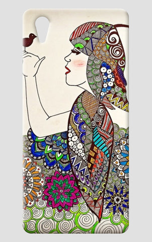 Girl One Plus X Cases | Artist : Prasun Balasubramaniam