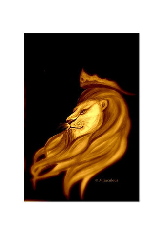 The King | Leo Wall Art | Artist : Miraculous