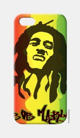 iPhone 5 Cases, Bob Marley iPhone 5 Case | Artist: Jayant Rana, - PosterGully