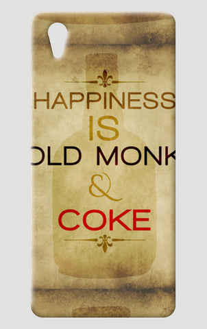 Happiness Is Old Monk and Coke One Plus X Cases | Artist : GABAMBO