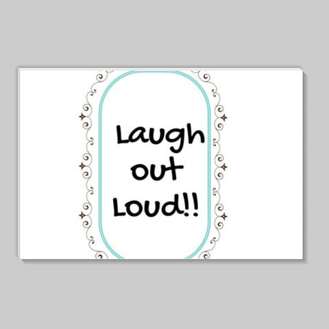 laugh out loud Stick Ons | Artist : Pallavi Rawal