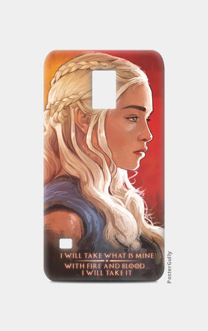 Samsung S5 Cases, Game of Thrones | Daenerys Targaryen | red Samsung S5 Cases | Artist : Aniruddha Lele, - PosterGully