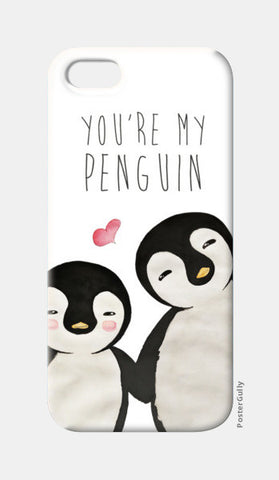 You're My Penguin | Artist: Aparna Singh iPhone 5 Cases | Artist : Aparna Singh