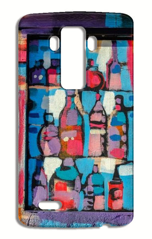 Paint Bottle LG G4 Cases | Artist : Manju Nk