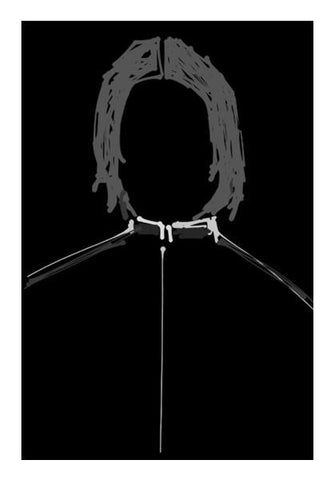 PosterGully Specials, Snape Harry Potter Minimal Doodle Wall Art | Artist : Praband, - PosterGully
