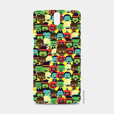 One Plus One Cases, HALLOWEEN MONSTERS One Plus One Case | Mona Singh, - PosterGully