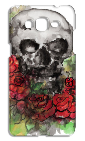 a skull symbolize our morality and death's relationship to life. Samsung Galaxy Grand Prime Cases | Artist : amit kumar
