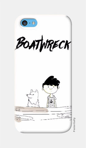 iPhone 5c Cases, BoatWreck iPhone 5c Case by Amitesh Tandon, - PosterGully