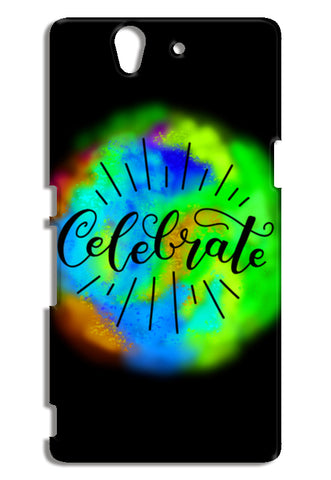 Celebrate caligraphy Sony Xperia Z Cases | Artist : Stuti Bajaj