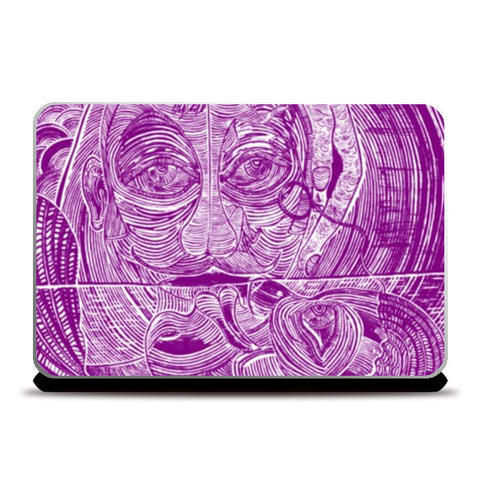 Laptop Skins, Perpetual Bliss Ver. 1.5 Laptop Skins | Artist : Luke's Art Voyage, - PosterGully
