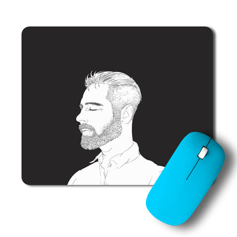 Calm Guy Artwork Mousepad