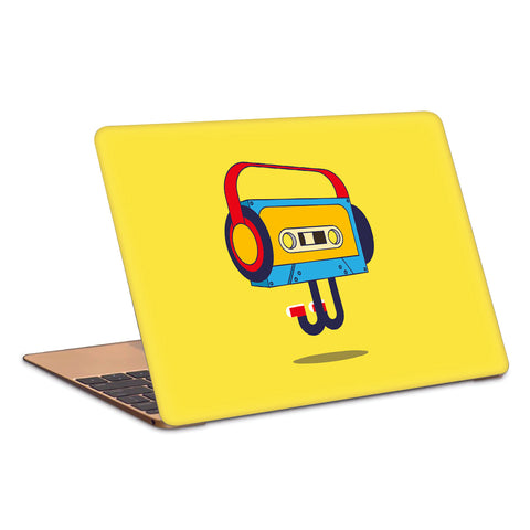 Cassette PopArt Peppy Artwork Laptop Skin