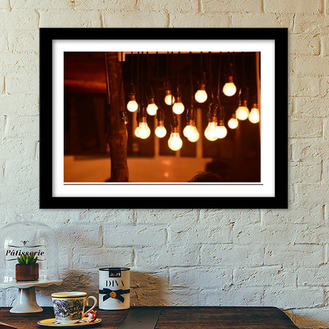 Shine out of Darkness Premium Italian Wooden Frames | Artist : Shloka Bajaj
