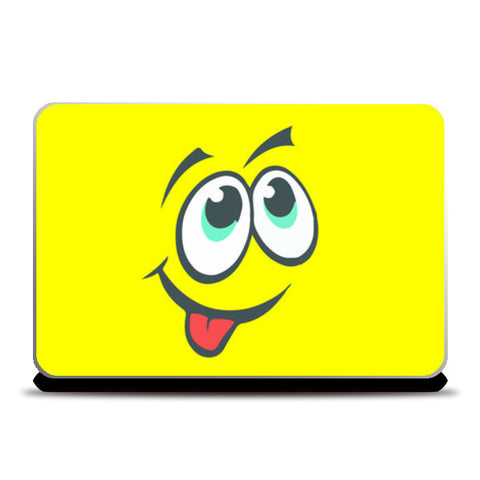 Laptop Skins, Creepy Cute Expression Monsters Laptop Skin | Mona Singh, - PosterGully