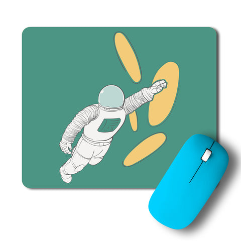 Robot Minimalist Artwork Mousepad