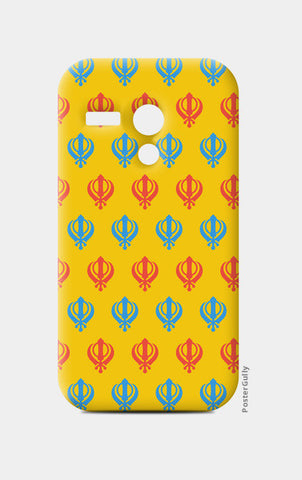 Moto G Cases, Khanda Art Moto G Cases | Artist : Gagandeep Singh, - PosterGully