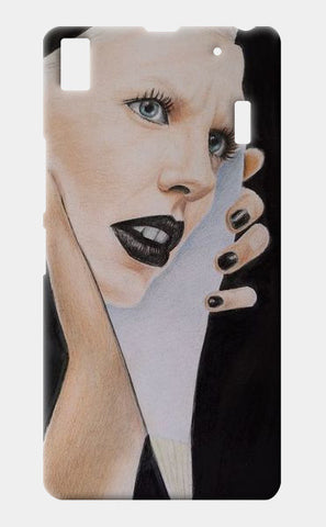 lost lady Lenovo K3 Note Cases | Artist : Pratigya Berwal