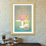 Premium Italian Wooden Frames, High Tea Collection Premium Italian Wooden Frames | Artist : Sanyukta bhatnagar, - PosterGully - 5