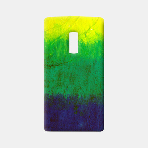 Green Blue Pastel One Plus Two Cases | Artist : Kanika Bardava