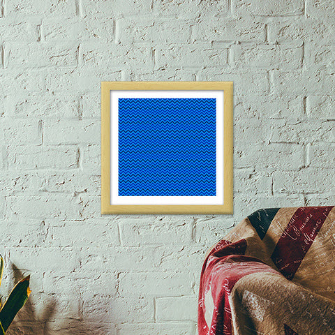 Abstract Blatterns Premium Square Italian Wooden Frames | Artist : Danish Prakash