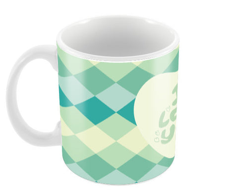 I love you with cool colors pattern Coffee Mugs | Artist : Designerchennai