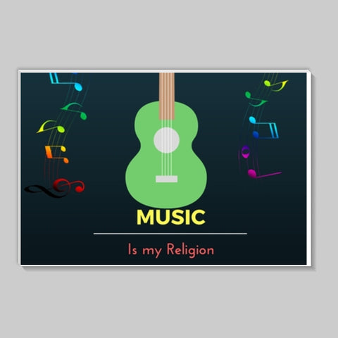 Music is my Religion Stick Ons | Artist : Pallavi Rawal