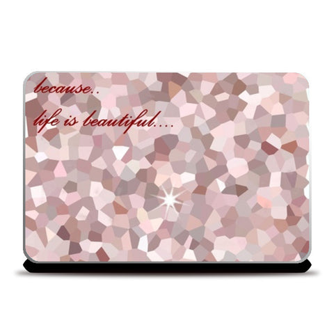 Laptop Skins, Crystal Texture Laptop Skins | Artist : Pallavi Rawal, - PosterGully