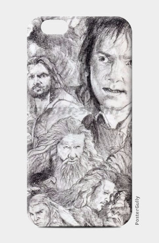 iPhone 6 / 6s, The Hobbit iPhone 6 / 6s case  | Artist:Sumit Sinha, - PosterGully