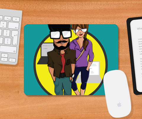 Mousepad, Hello World! Mousepad | Artist : Hriddhi Dey, - PosterGully