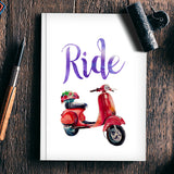 Ride Notebook | Artist : Vaishak Seraphim