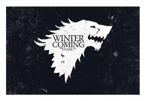 Winter is coming Wall Art  | Artist : Navdeep Sharma