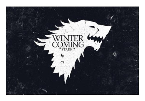 PosterGully Specials, Winter is coming Wall Art | Artist : Navdeep Sharma, - PosterGully