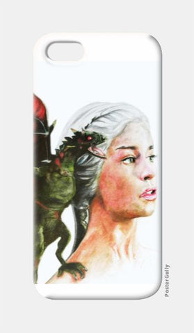 iPhone 5 Cases, Khaleesi Game of Thrones iPhone 5 Case | Artist: Tridib Das, - PosterGully