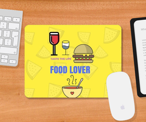 The Food Lover Mousepad | Artist : Pallavi Rawal